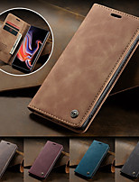 cheap -CaseMe Magnetic Flip Wallet Phone Case Retro Stand for Samsung Galaxy S20 S20 Ultra S20 Plus S10 S10 Plus S10E S10 5G S9 S9 Plus S8 S8 Plus S7 S7 Edge A10 A20 A30 A40 A50 A70 A30S A50S Note 10 Plus