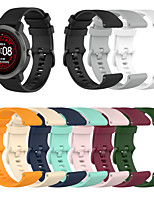 cheap -Watch Band for Forerunner 645 / Garmin Forerunner245 / Garmin vivoactive4 Garmin Sport Band Silicone Wrist Strap