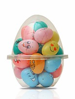 cheap -Easter Holiday Decorations Christmas Decorative objects 1 set multi color emoji