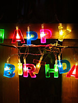 cheap -LED Happy Birthday HappyBirthday Lantern Light String Creative Birthday Gift Battery Light Decoration Gift