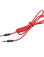 cheap -3.5mm Vehicle AUX Line AUX Audio Link for Vehicle 1.2M AUX Audio for Home Theaters Audio Equipment Soft Texture Cable
