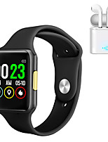 cheap -JSBP E06  Women Smart Bracelet ECGPPG Smartwatch BT Fitness Equipment Monitor Waterproof with TWS Bluetooth Wireless Headphones Music Headphones for Android Samsung/Huawei/Xiaomi iOS Mobile Phone