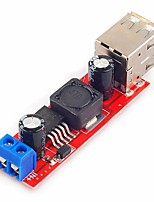 cheap -Dual USB Output 9V/12V/24V/36V to 5V DC-DC Vehicle Charging 3A Buck Voltage Step-Down Module