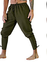 cheap -Men's Yoga Pants Harem Solid Color Brown Army Green Beige Running Fitness Gym Workout Bottoms Sport Activewear Breathable Soft Stretchy