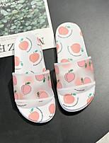 cheap -Women's Sandals Katy Perry Sandals Flat Heel Open Toe PU Summer Pink / Black