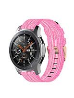 cheap -Canvas Nylon Watchband for Garmin Active / Garmin vivoactive 4 Quick Release Strap Watch Band