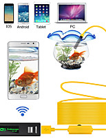 cheap -WIFI Endoscope Camera 1200P 1-10M Hard Wire Wireless 8mm 8 LED Camera For Android PC IOS Endoscope