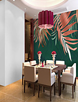 cheap -Custom Self-adhesive Mural Wallpaper Red Leaf Is Suitable For Bedroom Living Room  Coffee Shop  Restaurant  Hotel Wall Decoration Art  Room Wallcovering