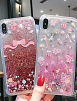 cheap -Case For Apple iPhone 11 / iPhone 11 Pro / iPhone 11 Pro Max Shockproof / Flowing Liquid / Pattern Back Cover Glitter Shine PC