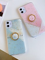 cheap -Case For Apple iPhone 11 / iPhone 11 Pro / iPhone 11 Pro Max Ring Holder / Pattern / Glitter Shine Back Cover Geometric Pattern / Glitter Shine / Marble TPU
