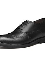 cheap -Men's PU Spring & Summer / Fall & Winter Business / Casual Oxfords Breathable Yellow / Black
