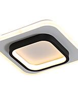 cheap -feimiao 2-Light 24 cm Circle Design Flush Mount Lights Metal Acrylic Painted Finishes LED / Modern 110-120V / 220-240V