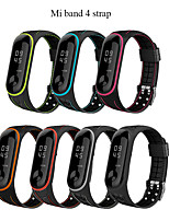 cheap -Mi band 4 Strap correa mi band 3 breathable strap for xiaomi band 4 Multi colorful sports strap for xiaomi band 3