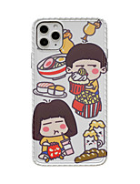 cheap -Case For Apple iPhone 11 / iPhone 11 Pro / iPhone 11 Pro Max Shockproof / Pattern Back Cover Cartoon PC