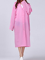 cheap -Women's Daily Long Trench Coat, Solid Colored Hooded Long Sleeve Polyester Black / White / Purple