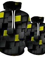 cheap -Plus Size Man Boy 3D Print Hoodies with Hat Men Loose Hooded Sweatshirt Hombre Streetwear
