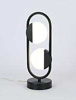 cheap -Simple / Modern Contemporary LED / New Design Table Lamp / Desk Lamp For Living Room / Bedroom Aluminum 85-265V Black / White