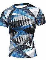 cheap -JACK CORDEE Men's Short Sleeve Cycling Jersey Polyster Polyester Taffeta Blue Bike Top Road Bike Cycling Sports Clothing Apparel / High Elasticity