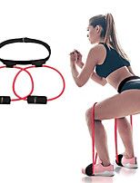cheap -Booty Resistance Belt Bands 1 pcs Resistance Bands Sports Latex Yoga Exercise & Fitness Gym Workout Adjustable Durable Support Vertical Jump Trainer For Men Women