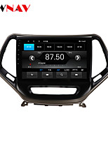 cheap -ZWNAV 10.1 inch 1din 1GB 16GB Android 10.0 Car GPS Navigation Car Stereo Player Car Multimedia Player DSP CarPlay For JEEP Cheroki 2014-2018
