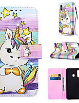 cheap -Case For Samsung Galaxy S9 / S9 Plus / S8 Plus Wallet / Card Holder / Rhinestone Full Body Cases Animal PU Leather for Galaxy S20 PLUS S20 ULTRA S20 A51 A71 A50 A40 A30 A20 A10S NOTE10 J4 PLUS