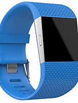 Недорогие -Ремешок для часов для Fitbit Surge Fitbit Классическая застежка TPE Повязка на запястье