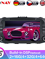 cheap -ZWNAV 8inch 2din Auto stereo Android 9 4GB 64GB Car CD DVD Player Car GPS navigation Car multimedia player tape recorder For Kia SOUL 2014-2017