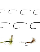 cheap -20 pcs Jig Head Fishing Hooks Non Hang-Nail Needle Fly Fishing / Freshwater Fishing / Bass Fishing Carbon Steel