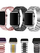 cheap -Stainless Steel bands for Apple Watch  strap metal watch band  38 40 42 44 Bracelet Clasp series 5 4 3 2 1