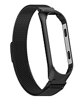 cheap -Smart Watch Strap Metal Stainless Steel Strap For Xiaomi Mi Band 3 4 Wrist Strap For Xiaomi Miband 3 4 Bracelet For Mi Band 3