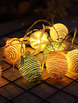 cheap -LED String Lights Easter Eggs Rope Egg Battery Light Strings Easter Decoration Lights 1.5M 10LED