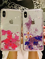 cheap -Case For Apple iPhone 11 / iPhone 11 Pro / iPhone 11 Pro Max Shockproof / Flowing Liquid / Pattern Back Cover Flower PC