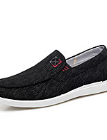 cheap -men's comfort shoes mesh fall & winter loafers & slip-ons black / blue