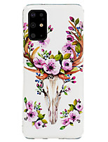 cheap -Case For Samsung Galaxy S20 / S20 Ultra / Glow in the Dark / Pattern Back Cover Cartoon / Animal TPU for Galaxy A10 A20 A30 A30S A40 A50 A50S A60 A70 A80 A90 M10 M20 NOTE9 NOTE10 NOTE10 PRO