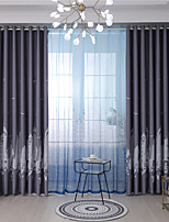 cheap -Gyrohome 1PC Skyscrapers Shading High Blackout Curtain Drape Window Home Balcony Dec Children Door *Customizable* Living Room Bedroom Dining Room