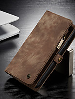 cheap -CaseMe Multifunctional Luxury Business Leather Magnetic Flip Case For iPhone 11 / iPhone 11 Pro / iPhone 11 Pro Max With Wallet Card Slot Stand 2-in-1 Detachable Case Cover