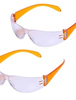 cheap -2pcs Outdoor Activities Safety Goggles for Children Kids Anti-explosion Dust-proof Protective Glasses