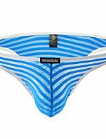 cheap -Men's Mesh Briefs Underwear - Normal Low Waist Yellow Fuchsia Red M L XL