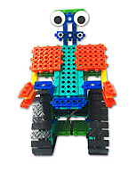 cheap -Building Blocks Educational Toy 137 pcs Robot compatible Legoing Focus Toy New Design Hand-made All Toy Gift