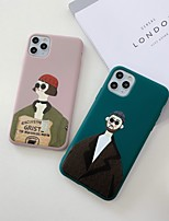 cheap -Case For Apple iPhone 11 / iPhone 11 Pro / iPhone 11 Pro Max Shockproof / Ultra-thin Back Cover Solid Colored / Sexy Lady / Cartoon TPU