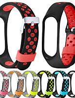 cheap -Watch Band for Mi Band 3 / Xiaomi Mi Band 4 Xiaomi Modern Buckle Silicone Wrist Strap