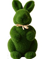 cheap -Easter bunny Decorative Objects plants, Plastic Modern Contemporary for Home Decoration Gifts 1pc