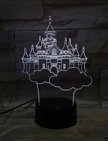 cheap -Colorful LED 3D Vision Night Light Sky City Image Touch Control Color 3D Night Light Table Lamp