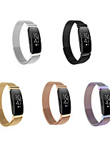 cheap -Watch Band for Fitbit Inspire HR / Fitbit Inspire Fitbit Milanese Loop Stainless Steel Wrist Strap