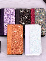 cheap -Case For Apple iPhone 11 / iPhone 11 Pro / iPhone 11 Pro Max Card Holder / with Stand / Flip Full Body Cases Tile PU Leather For iPhone XR/XS Max/XS/X/8 Plus/7/6s Plus/6/5/5G/5S/SE