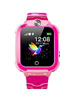 cheap -W01 Kids Smartwatch Thermometer Android iOS Bluetooth Waterproof Touch Screen Sports Long Standby Thermometer Pedometer Call Reminder Activity Tracker Sleep Tracker Community Share