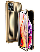 cheap -Case For Apple iPhone 11 / iPhone 11 Pro / iPhone 11 Pro Max Shockproof Full Body Cases Solid Colored Metal