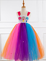 cheap -Kids Girls' Rainbow Dress Rainbow