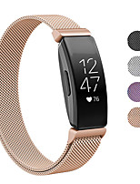 cheap -Watch Band for Fitbit Inspire HR / Fitbit Inspire Fitbit Sport Band / Milanese Loop / Modern Buckle Stainless Steel Wrist Strap