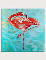 cheap -Hand Painted Canvas Oilpainting Abstract Animal by Knife Home Decoration with Frame Painting Ready to Hang